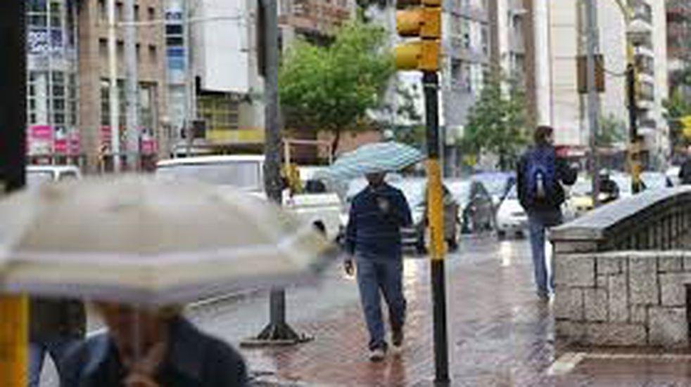 Alerta por fuertes lluvias en el centro y sur de Córdoba
