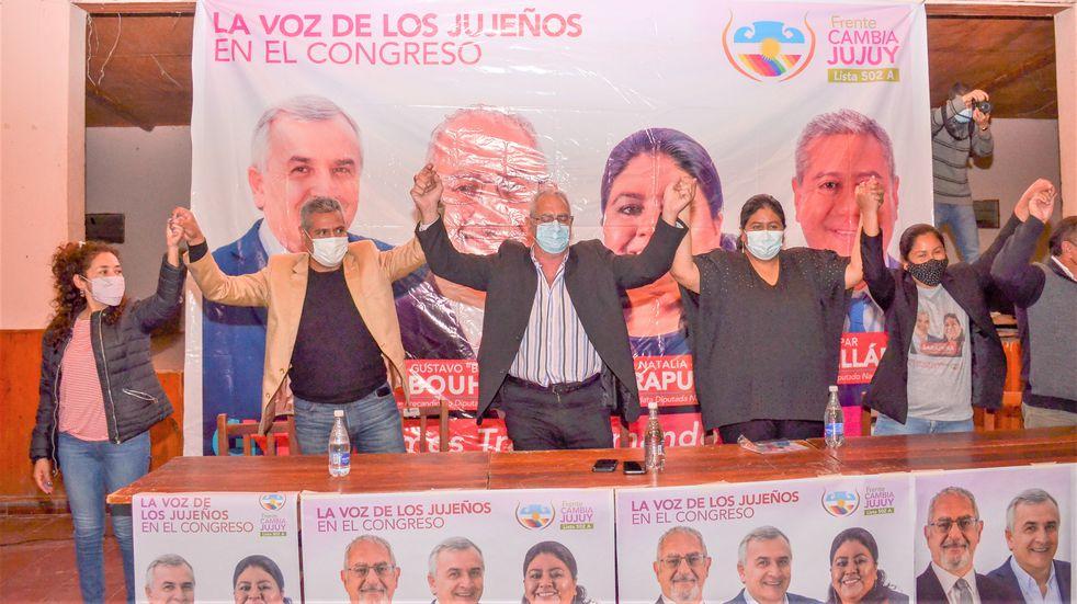 """Bouhid llamó a rechazar """"la política de atropello y discriminación"""" contra Jujuy"""