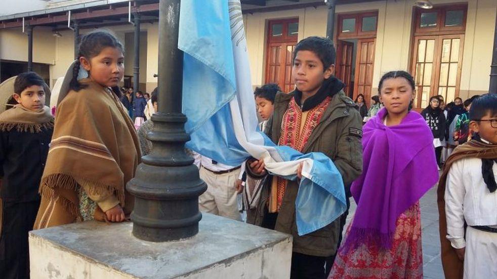 La Escuela Belgrano recordó la gesta jujeña de agosto de 1812