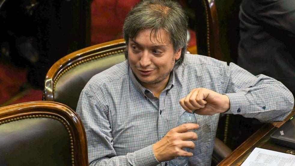 Máximo Kirchner, internado por cólicos renales: el parte médico oficial