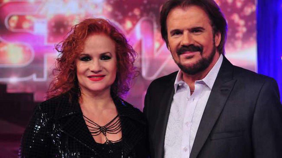 Lucía y Joaquín Galán, los Pimpinela.