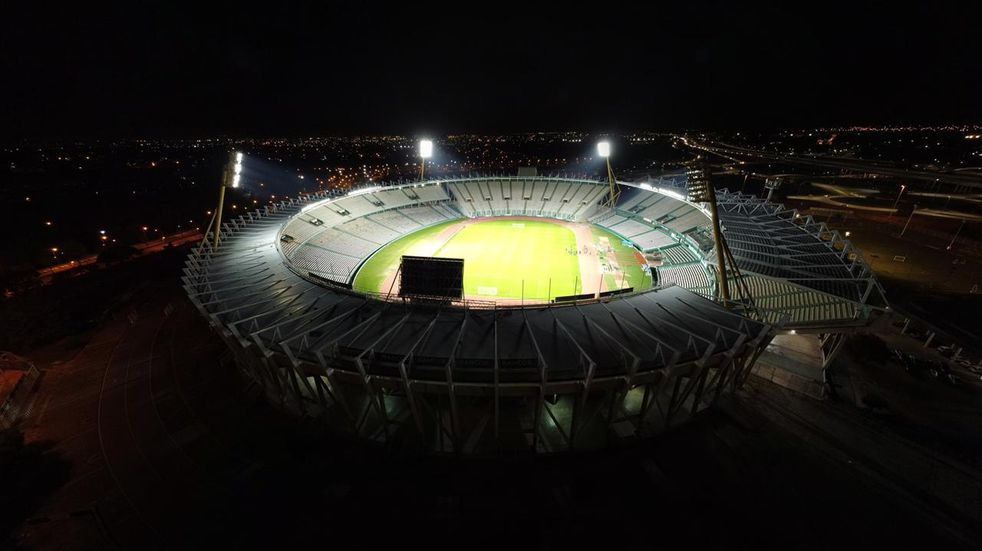 El Estadio Kempes, renovado para sus 43 años