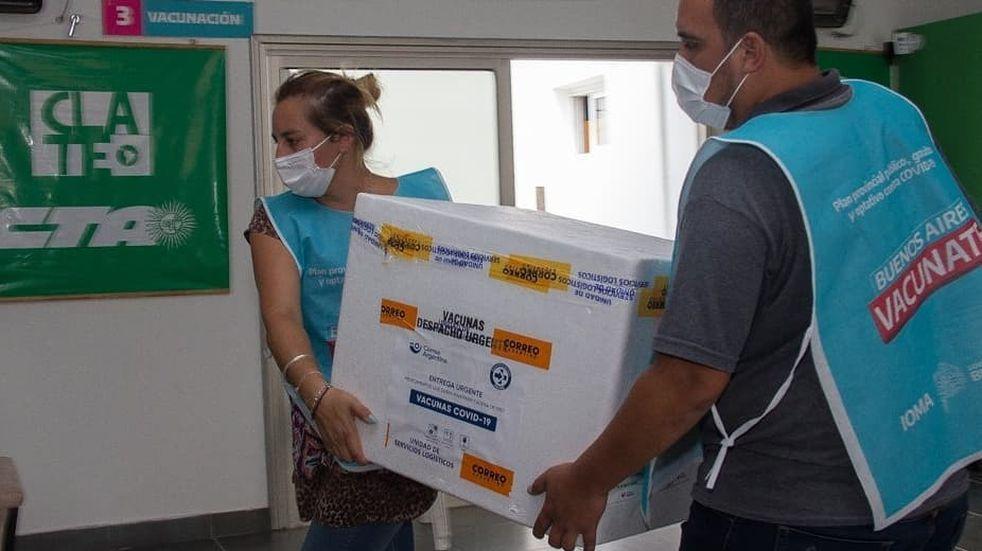 Vacunación en Azul: esta semana se aplicaron más de 3.500 dosis