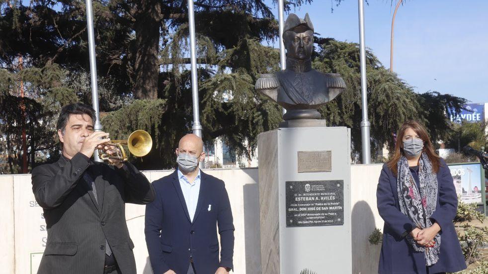 Acto por el nuevo aniversario del paso a la inmortalidad del General José De San Martín