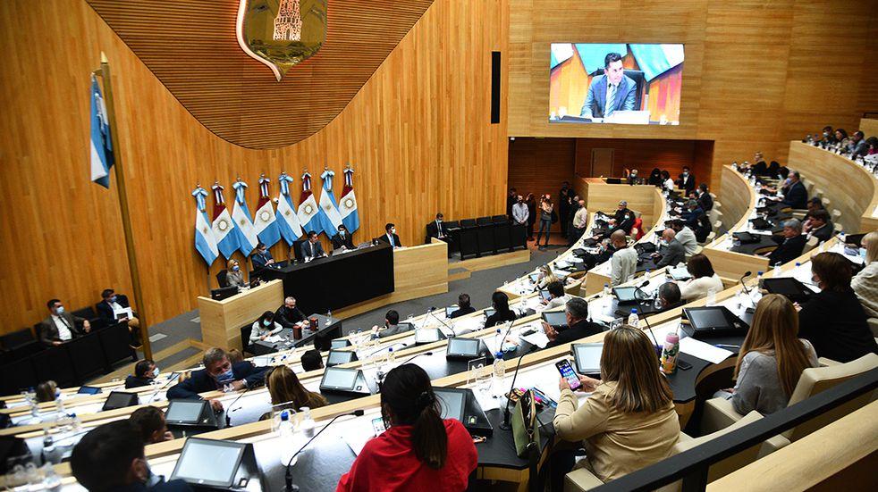 Cordoba el 22 de September de 2021 vuelta a la presencialidad en la legislatura de cordoba sesion Foto: Pedro Castillo