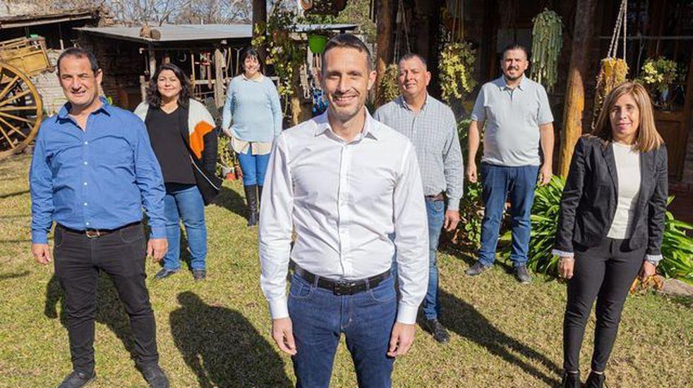 Pérez: Pablo Corsalini presentó su lista de Concejales