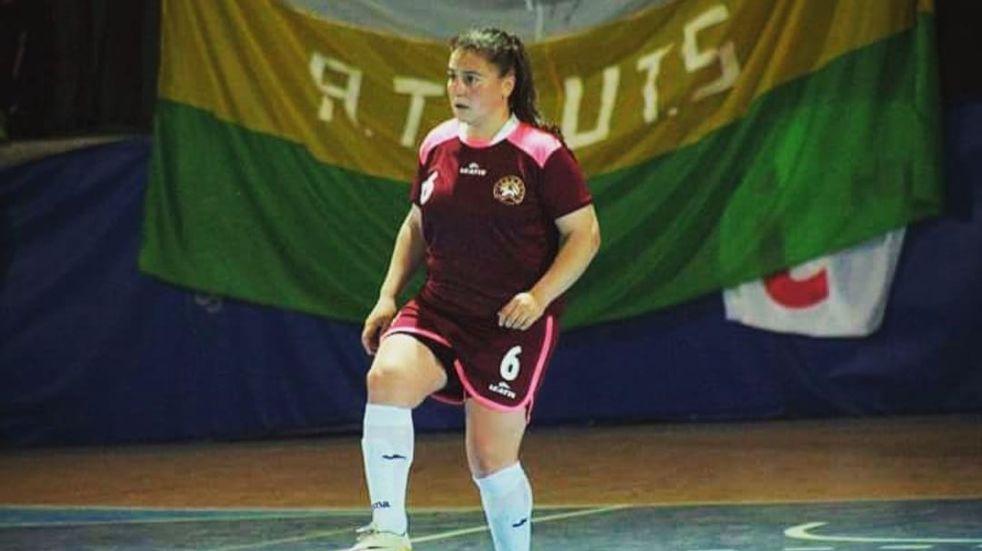 Florencia Ogara, la futbolista mendocina que va a jugar a Italia.
