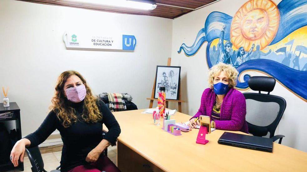 """Reunión para la restauración del emblemático cartel """"Ushuaia, fin del mundo"""""""