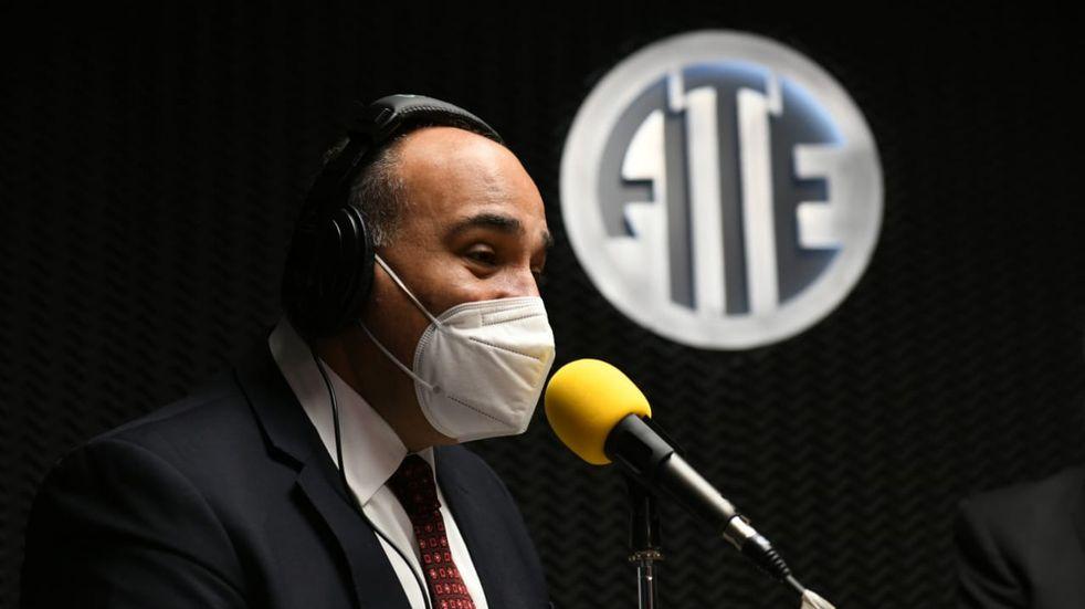 Manzur participó en la inauguración de Radio ATE