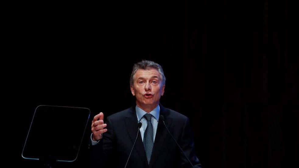 """""""En Argentina no hay ninguna posibilidad de default"""", aseguró Macri"""
