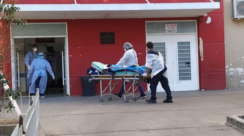 Horror en Capilla del Monte; evoluciona favorablemente la niña gravemente herida por su padre. (Foto: Cadena 3).