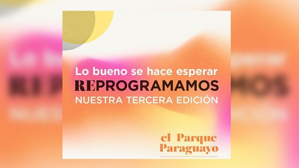 La tercera edición del Festival Audiovisual El Parque Paraguayo se postergó para diciembre