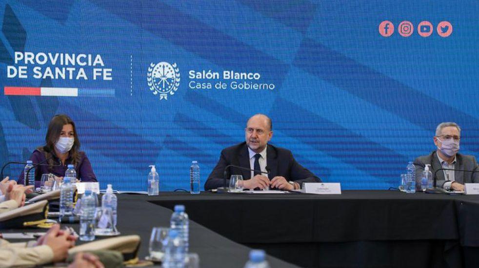 Omar Perotti rechazó la postura de Sabina Frederic sobre la violencia en Santa Fe