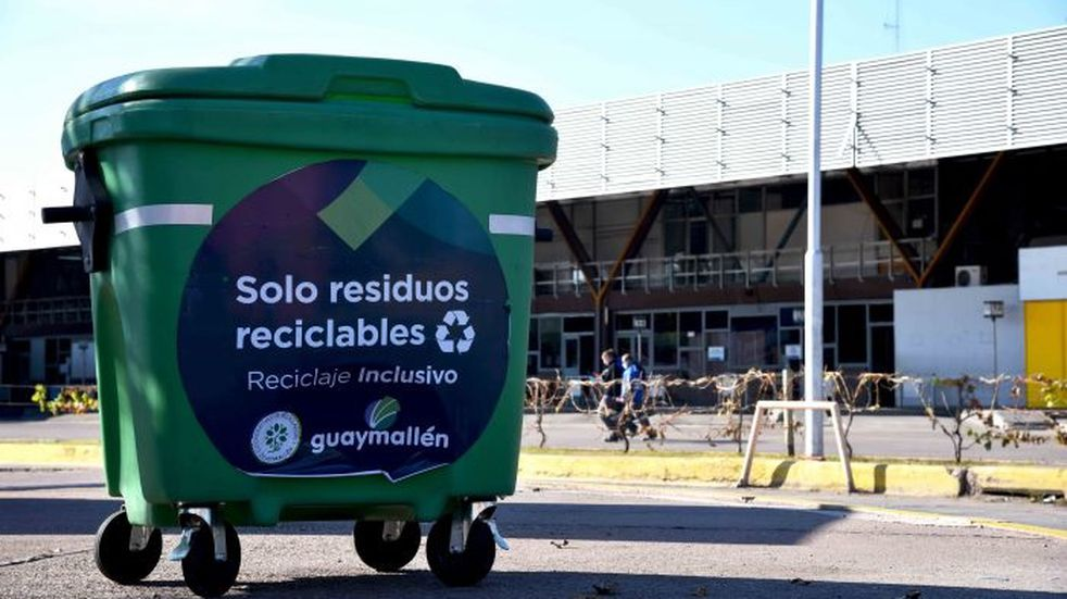 La Terminal de Mendoza se suma al reciclaje inclusivo de Guaymallén