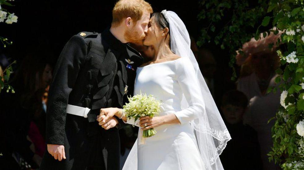 El príncipe Harry y Meghan Markle se casaron en el Castillo de Windsor