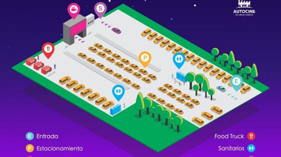 El primer autocine de Mar del Plata estará en Once Unidos