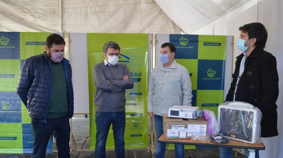 El Hospital Pintos recibió equipamiento para asistencia respiratoria