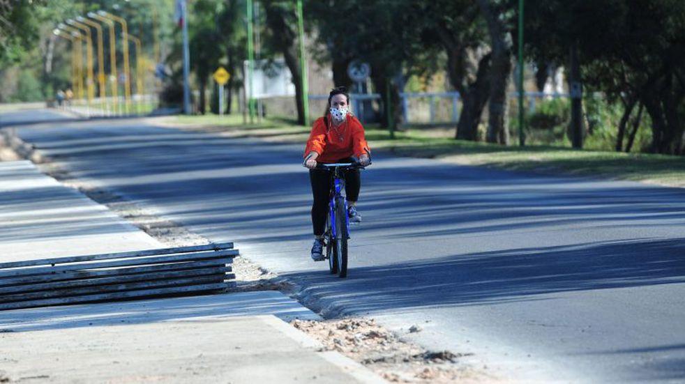 Pueblo General Belgrano habilitó las actividades de running y ciclismo