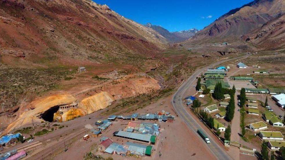 Comienzan las obras en Puente del Inca