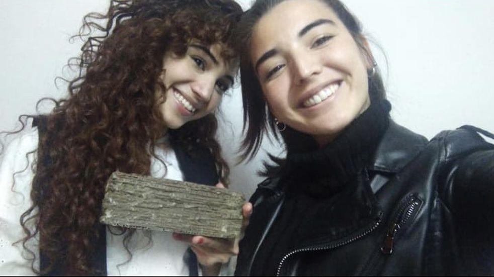 Yasmin y Flor, las dos hermanas que pensaron y crearon EcoBrick.