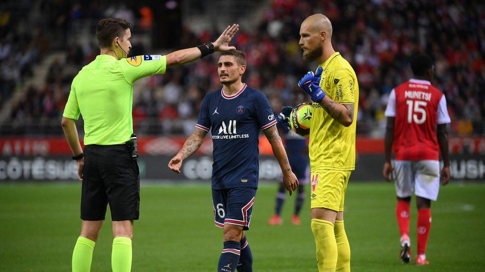 Debuta Messi: el VAR salvó al PSG del empate del Reims