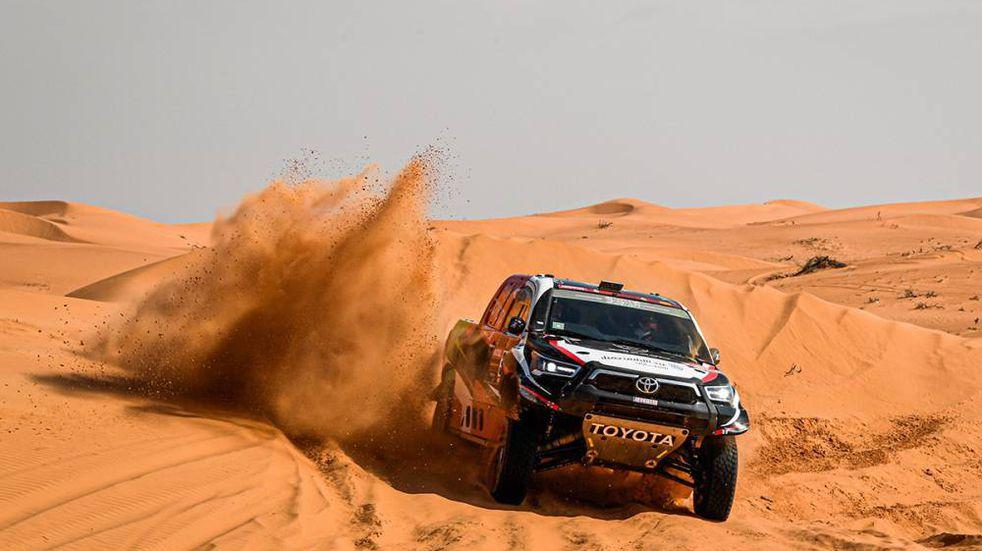 Dakar, Etapa 7: Al Rajhi dominó con Toyota; Peterhansel se afirma en la general