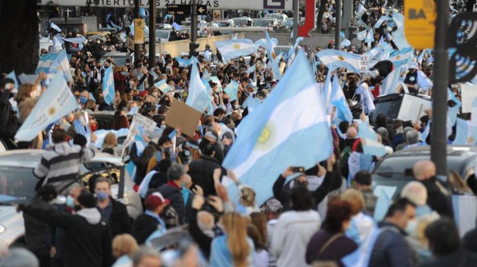 Marcha 17A: masiva convocatoria  en todo el país