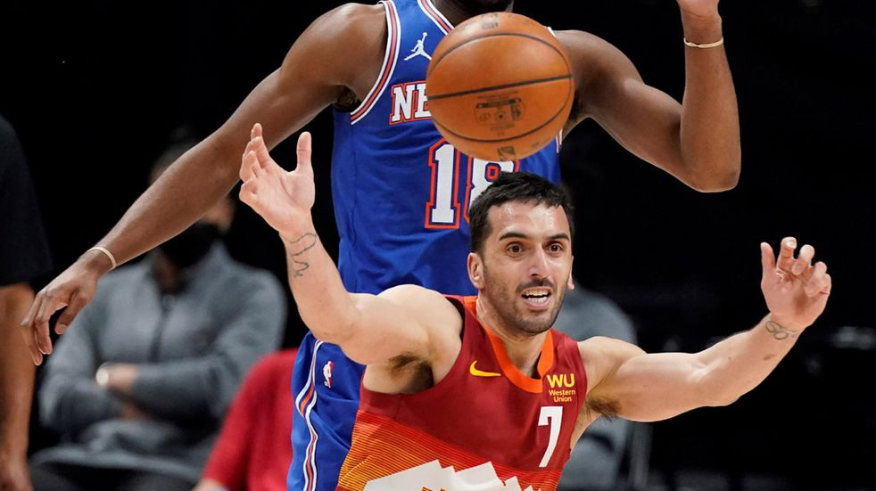 Cordobés en NBA: Nuggets de Campazzo enfrentará a Portland Trail Blazers, en los playoffs