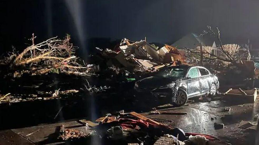 Un tornado en Carolina del Norte dejó un saldo de tres muertos y 10 heridos