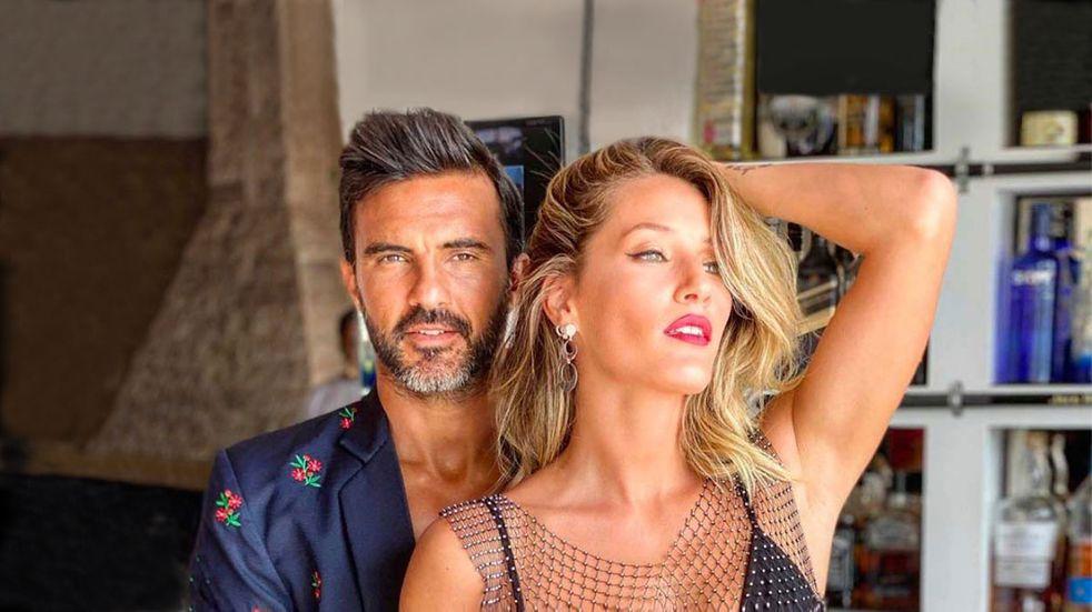 """Mica Viciconte deschavó a Fabián Cubero en la playa al verlo con uno de sus vestidos: """"Ay, pero que bella"""""""