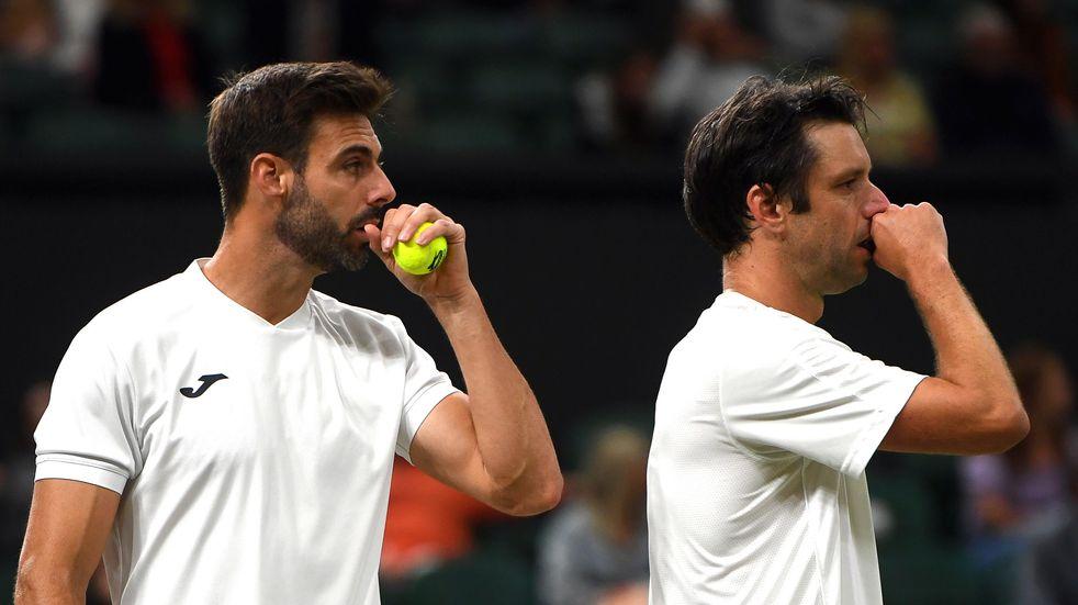 Wimbledon: el argentino Zeballos junto a Garonellers dieron pelea pero perdieron la final de dobles masculino