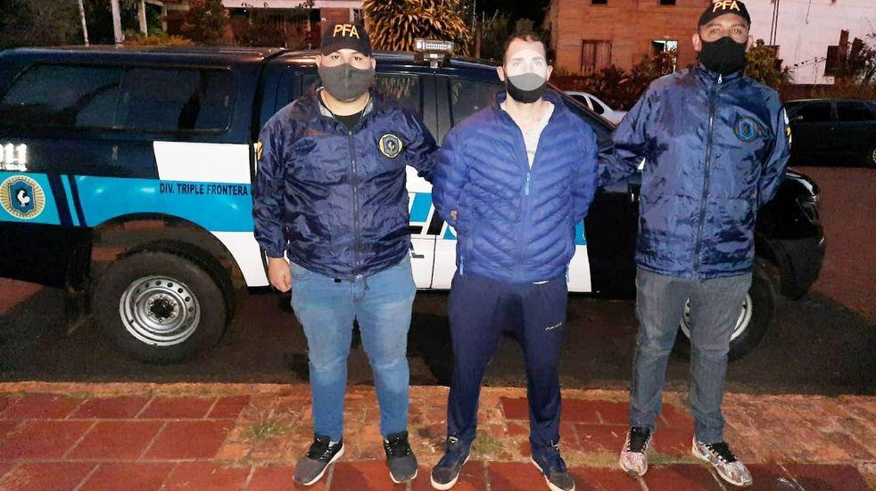 Detuvieron a un prófugo con pedido de captura en Iguazú