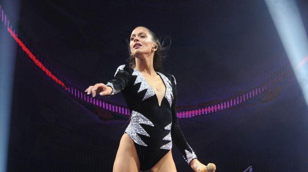 Tini Stoessel fue la elegida para inaugurar el Movistar Arena