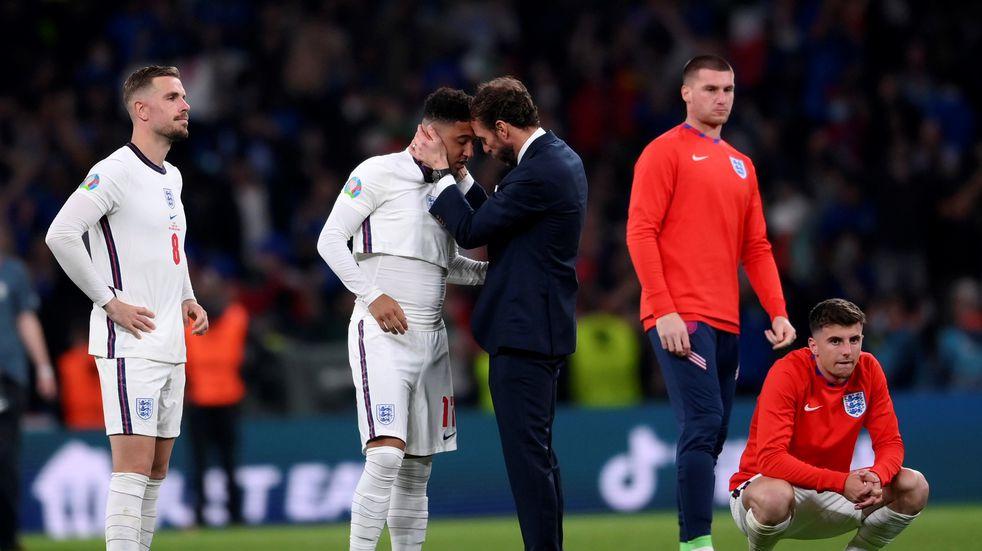 Un hincha inglés se tatuó el título de la Eurocopa horas antes de perder ante Italia