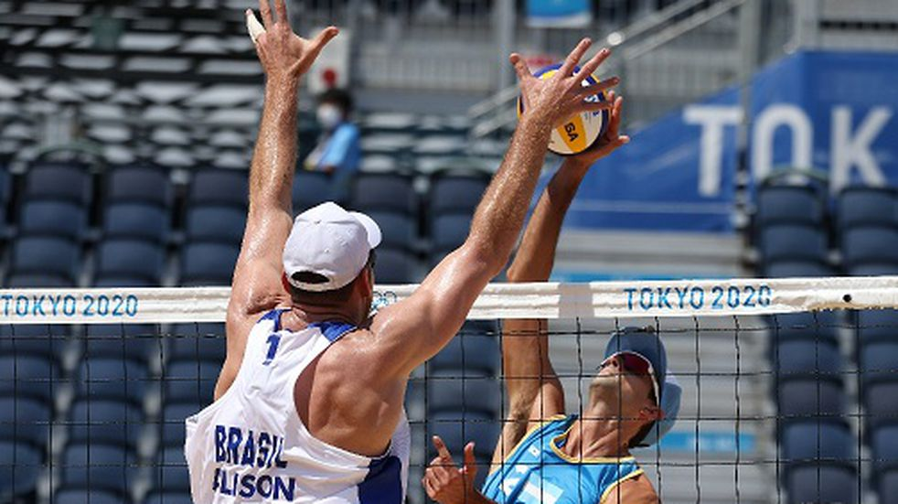 Juegos Olímpicos: Argentina cayó en el debut de Beach Vóley ante Brasil