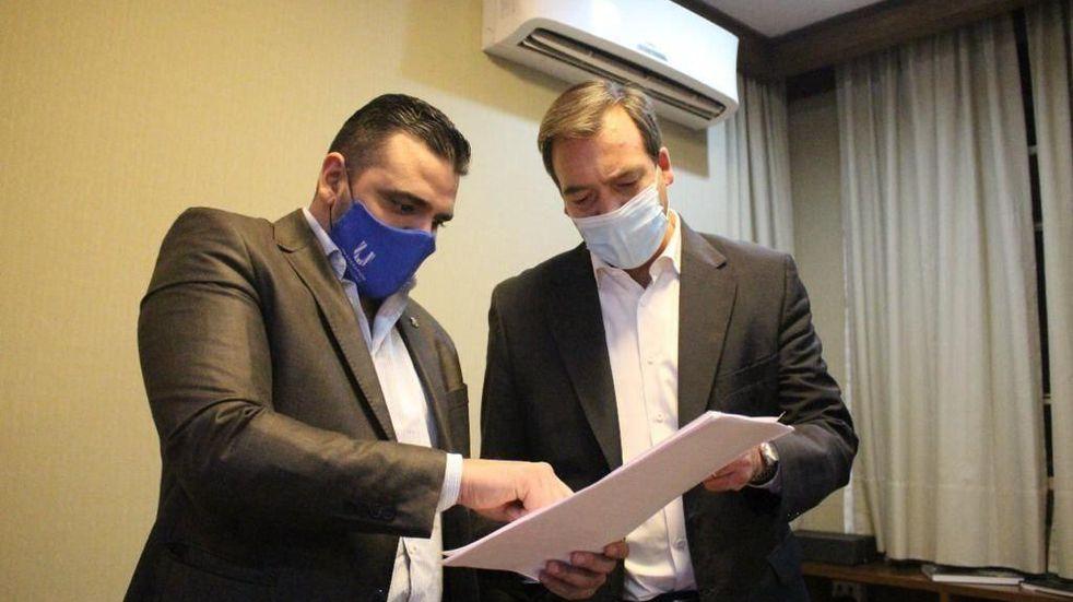 Vuoto mantuvo un encuentro con el Ministro de Justica de Nación