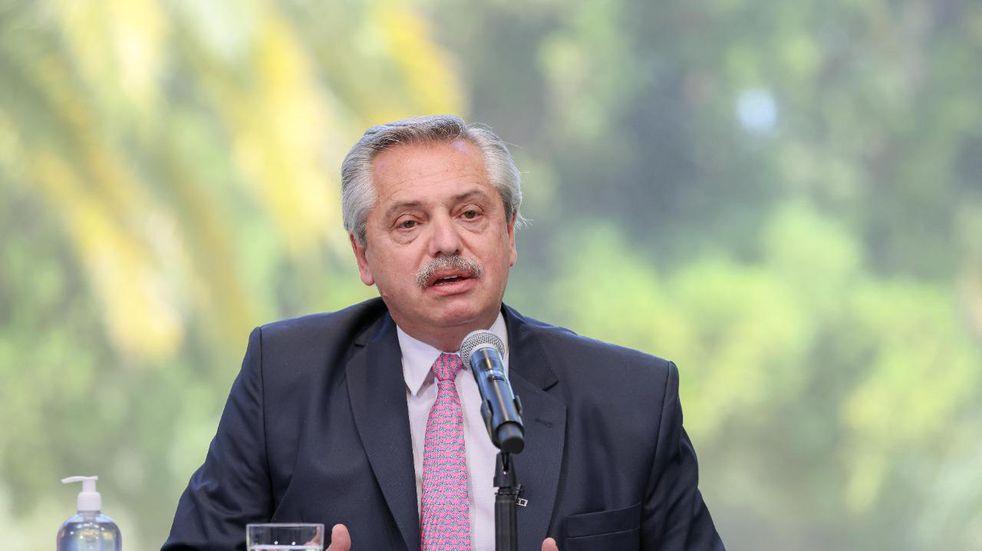 """Alberto Fernández hizo polémicas declaraciones sobre periodistas opositores: """"Necesitan un psiquiatra"""""""