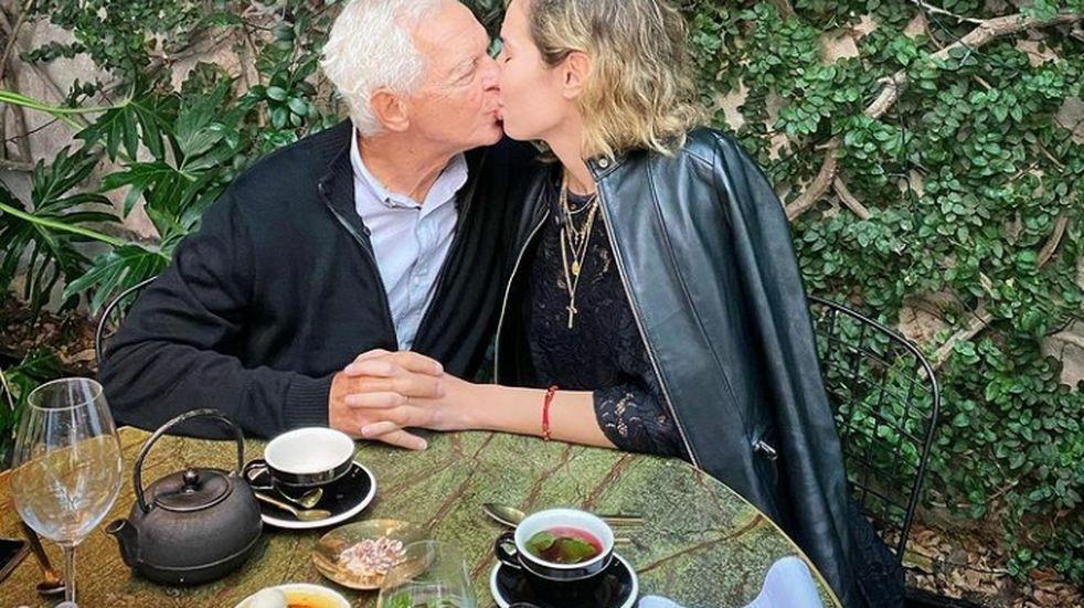 Elina Fernández y Eduardo Costantini a dos años del almuerzo que les cambió la vida