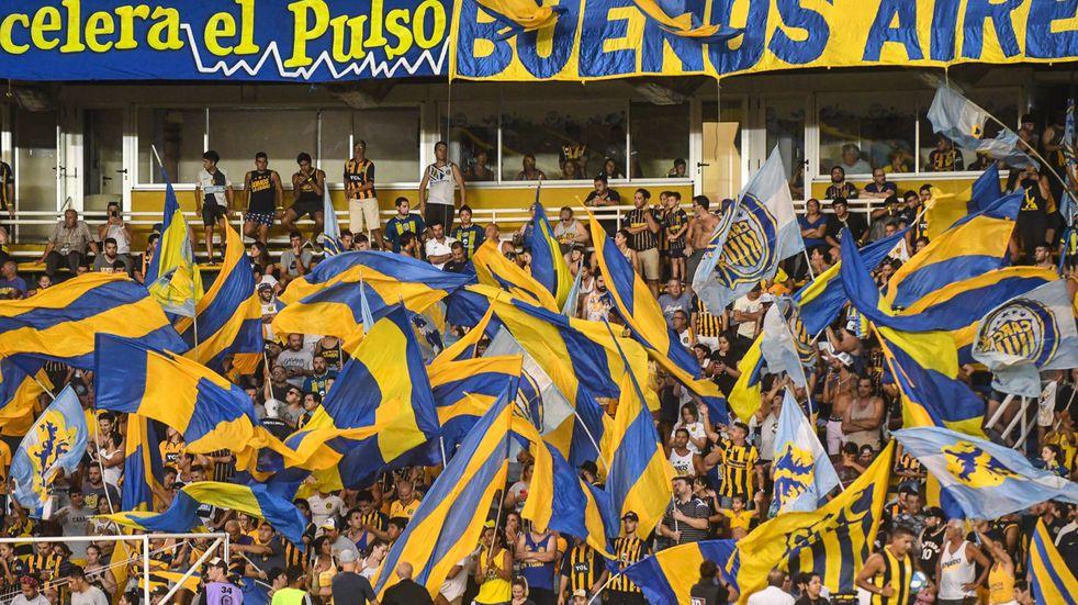 La última imagen del Gigante de Arroyito con público, aquel 1º de marzo de 2020 en el triunfo de Rosario Central por 3 a 1 ante Arsenal. (@RosarioCentral)