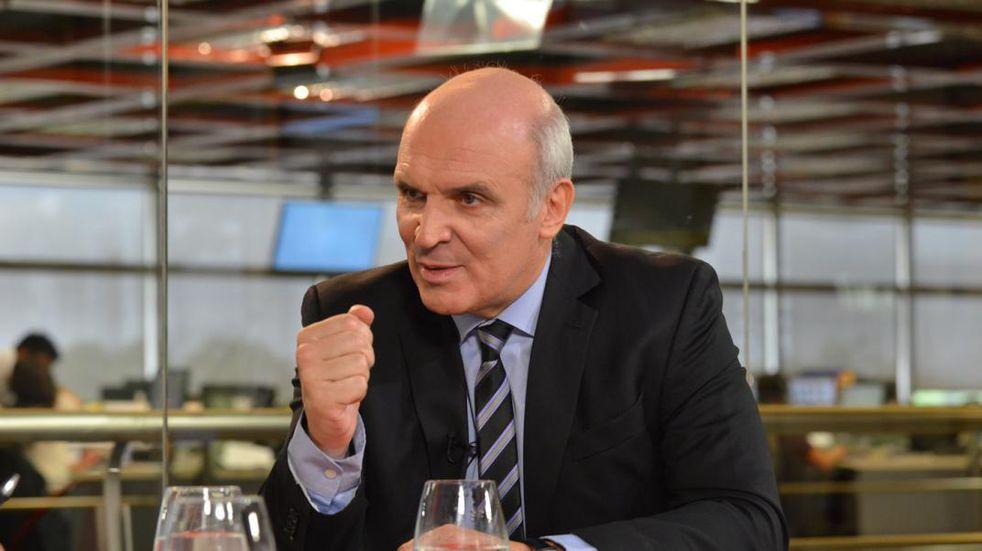 """José Luis Espert y lo que dijo sobre Juan Grabois: """"Yo lo metería preso""""."""