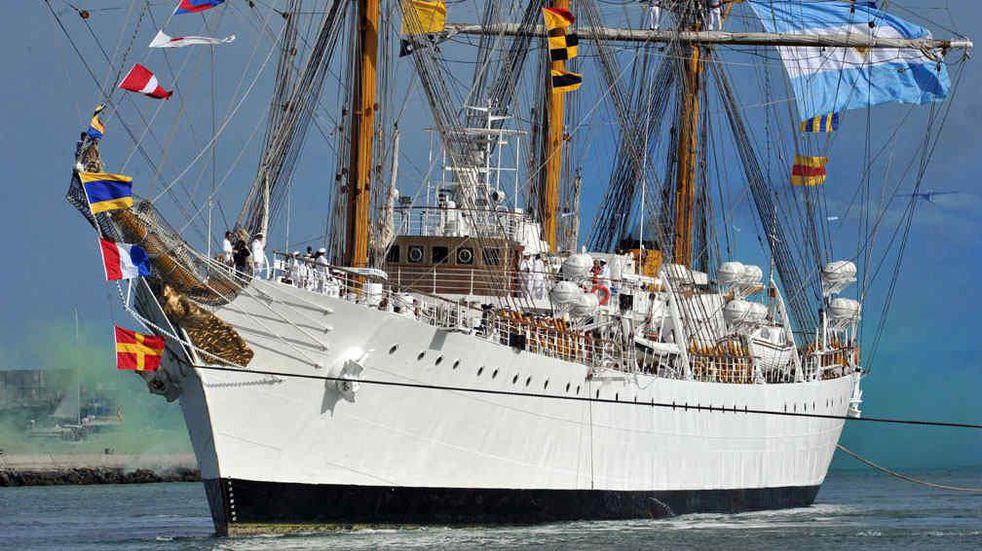 La Fragata Libertad llegará a Claromecó el próximo 5 de agosto