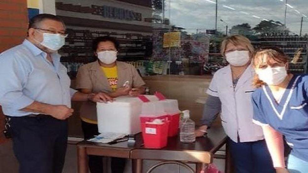 Tienen intención de montar un colectivo vacunatorio en Eldorado