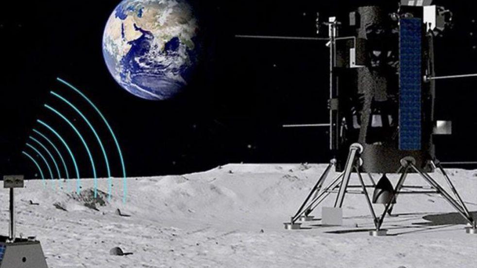 La NASA y Nokia construirán una red de telefonía celular en la Luna