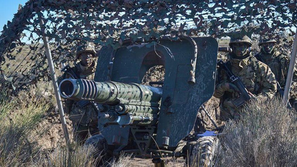 Aspirantes de Infantería de Marina realizaron una nueva campaña en Baterías