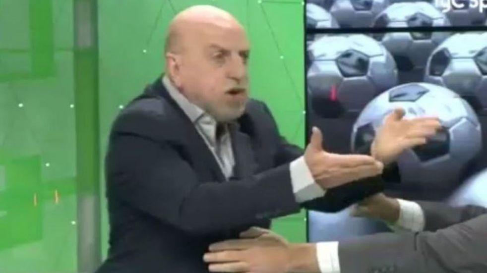 El fuerte cruce en vivo de Tití Fernández y Horacio Pagani por la final de la Copa Libertadores