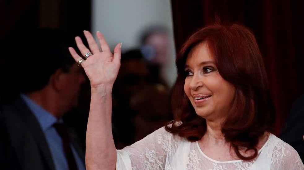 En su primera actividad como vice, Cristina Kirchner recibió a las delegaciones de China y Rusia
