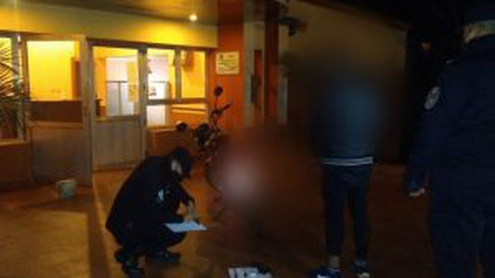 Oberá: detuvieron a un joven que empujaba una moto sin documentaciones