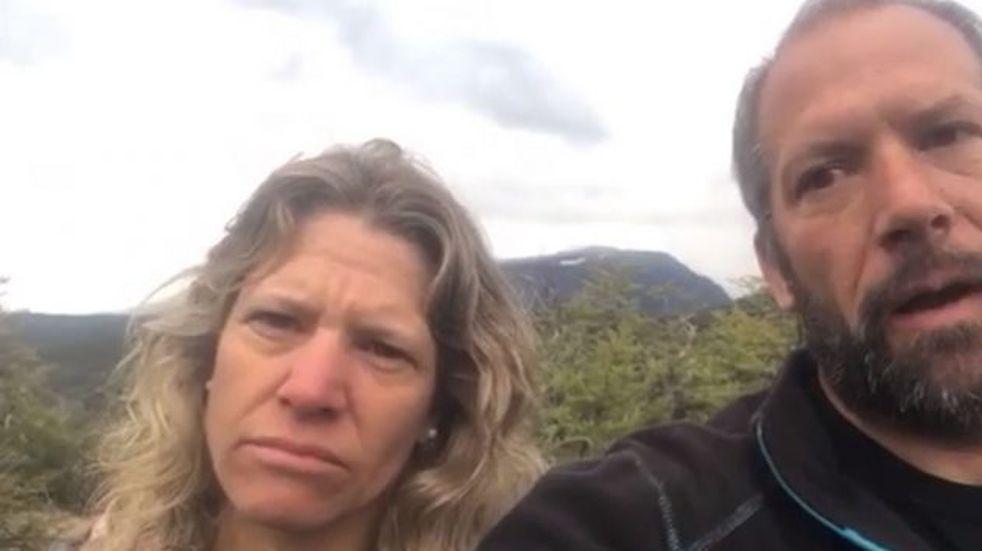 """""""Estamos secuestrados por un grupo de pseudo mapuches"""", el mensaje de la familia rehén de la toma en El Foyel"""