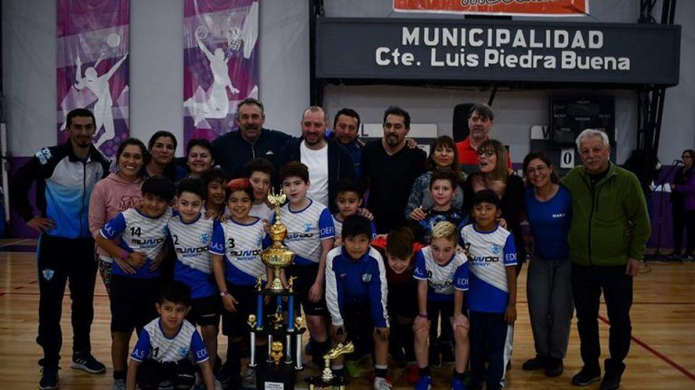EDEFICAAS campeón del Torneo Patagónico de Fútbol