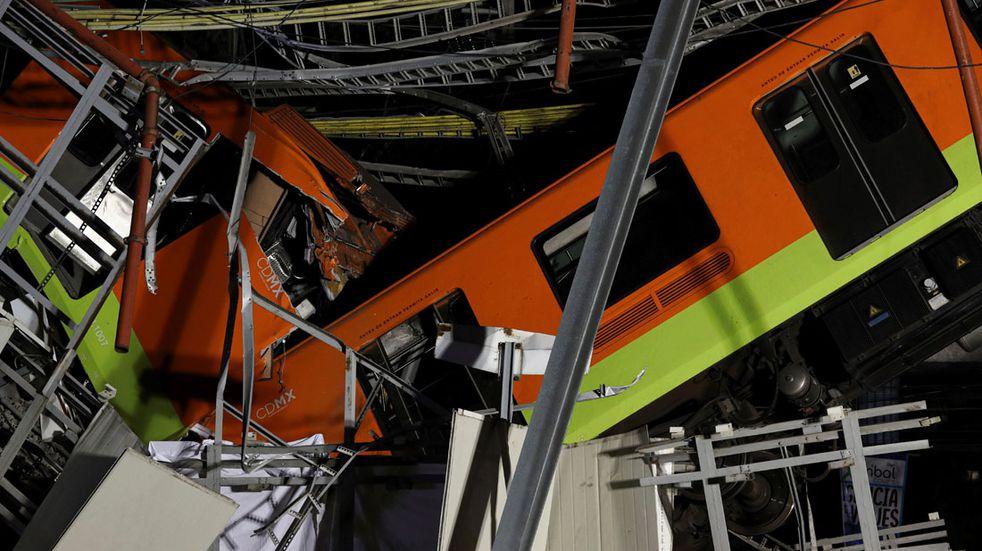 Tragedia en México: al menos 23 muertos y 65 hospitalizados tras desplomarse un metro